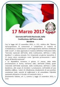 17 marzo Unita Nazionale
