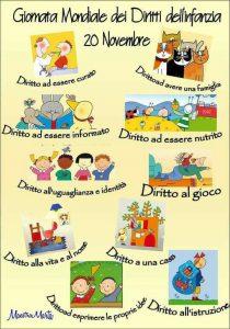 20 novembre Giornata Mondale dei Diritti dei bambini