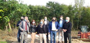 Avviato il cantiere sul Lambro dall'Assessore regionale Foroni