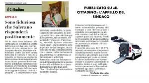 APPELLO PUBBLICATO SU CITTADINO