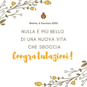 Mattia è nato proprio a Salerano!