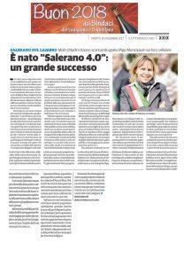 """da """" il Cittadino """" : BUON 2018 dal SINDACO"""