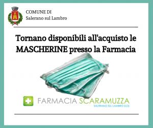 ACQUISTO MASCHERINE