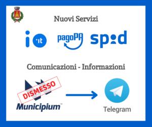 Nuovi servizi e canali di informazione