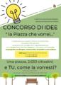 💡 CONCORSO DI IDEE - La Piazza che vorrei