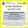 Pensioni Maggio