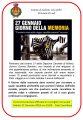 GIORNATA DELLA MEMORIA LOCANDINA 2018