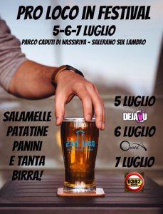 PROLOCO Salerano propone Festa della birra