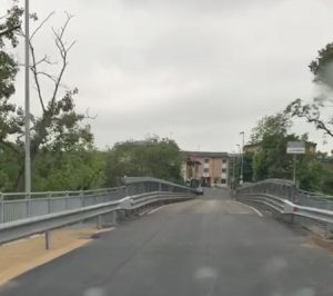 Riapre il ponte di Salerano