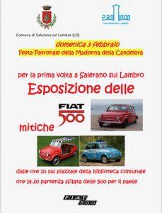 Esposizione Fiat 500