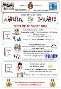 LOCANDINA FESTA DELLO SPORT