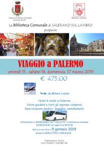Viaggio a PALERMO 15-16-17 marzo 2019