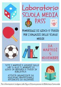 Laboratorio SCUOLA MEDIA PASS - Progetto Gioco-Studio Assistito A.S. 2019/2020