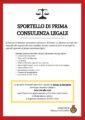 SPORTELLO DI PRIMA CONSULENZA LEGALE