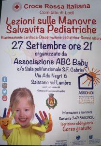 Formazione genitori: le manovre salvavita pediatriche