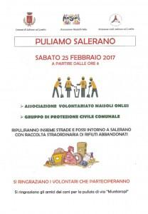 PULIAMO SALERANO FEBBRAIO 2017