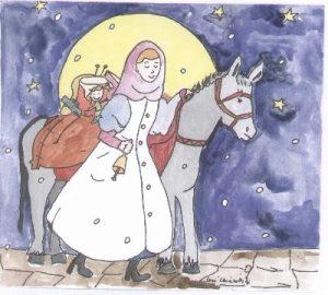 SANTA LUCIA ASPETTA I BAMBINI IN BIBLIOTECA
