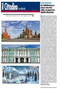 """In Biblioteca l'incontro con la Russia - l'articolo de """"Il Cittadino"""""""