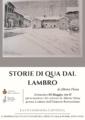 Presentazione volume STORIE DI QUA DAL LAMBRO