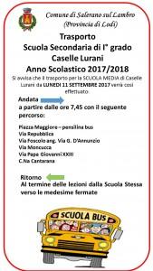 TRASPORTO SCUOLA ANNO 2017_2018