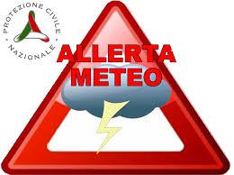ALLERTA METEO - CODICE GIALLO