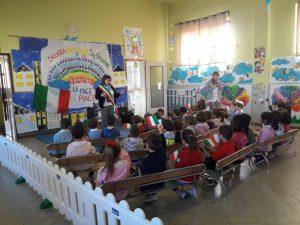 Il Sindaco intervistato dai bambini dell'asilo