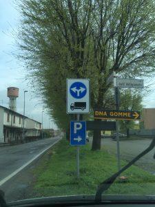 Nuova viabilità AUTOCARRI in Salerano