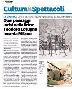 Cotugno espone ancora a Milano