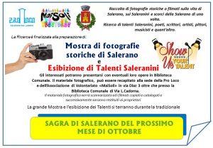 Mostra di fotografie storiche di Salerano ed esibizione di Talenti