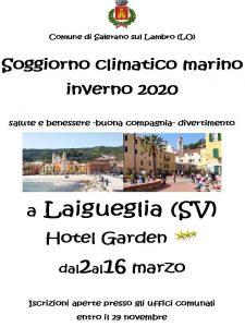 Soggiorno climatico marino 2020