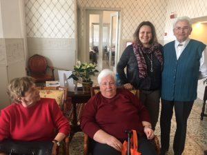Un saluto ai nostri pensionati ad Alassio