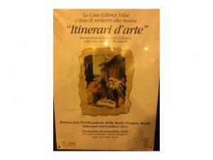 """Domenica 18/11 in Parrocchia Mostra """"Itinerari d'arte"""""""