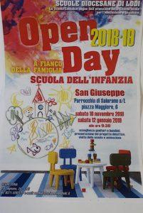 Open day Scuola dell'Infanzia San Giuseppe