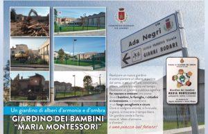 """Inaugurazione nuovo GIARDINO dei BAMBINI """"M.Montessori"""""""