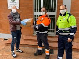 Protezione Civile attiva nella gestione dell'emergenza sanitaria