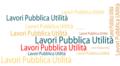 Lavori di pubblica utilità per il tuo Comune