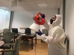 Sanificazione e disinfezione immobili comunali