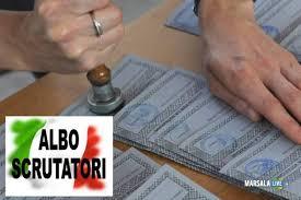 Iscrizione all'albo degli scrutatori e presidenti di seggio