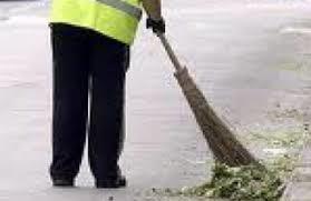 Il 10/7 sospeso spazzamento strade per manutenzione autospazzatrice