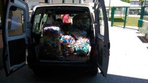 Raccolti 815 Kg di tappi di plastica !